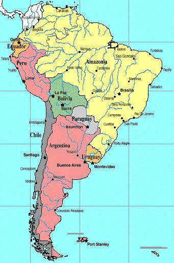 Südamerika Karte Länder.Lateinamerika Shadowiki